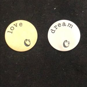 Origami Owl plates for lockets